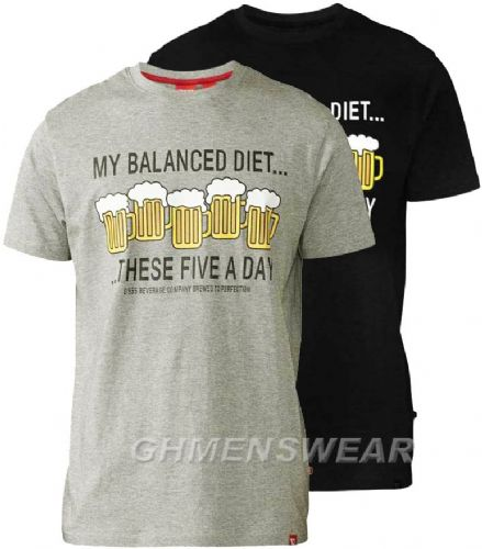 D555 BALANCED DIET T SHIRT